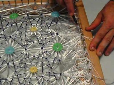 Tapete de hilos de seda (5.6), corte del tapete