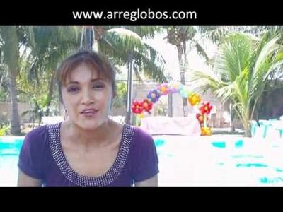 Arcos con Globos www.arreglobos.com