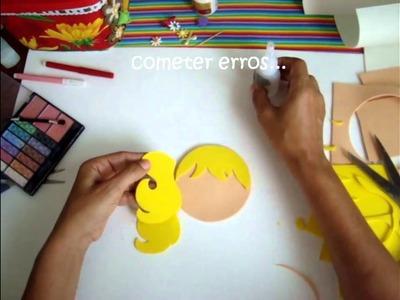 Artesanato EVA - Mestre Cuca (rosto1.2) -Oficinas Cri A tivas