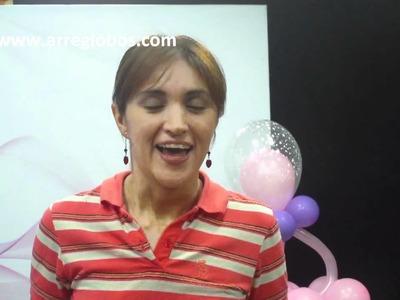 Decoracion con Globos para Baby Shower www.arreglobos.com