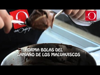Galletas de malvaviscos receta Chef Oropeza