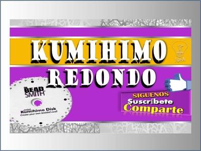 KUMIHIMO REDONDO (Telar Japones) Por: Azucena Osilia