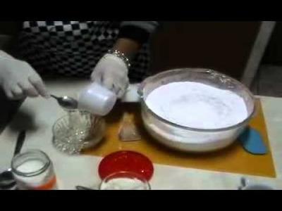 Masa Elastica o pasta de Goma