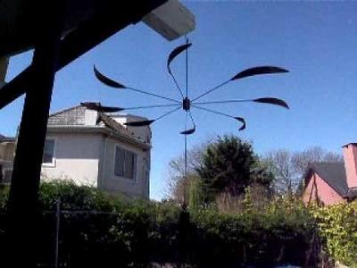 Moviles de viento de Mariano Marienhoff