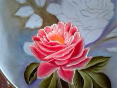 Pintando Camino De Rosas Con Cony Dos