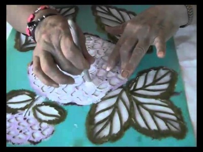 Pintar, decoración en tela, ( Primera parte)