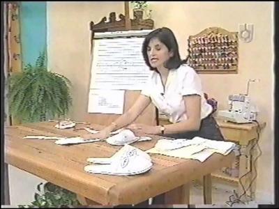 Puntos y Puntadas 295. Pantuflas ó Chinelas para Mamá. MR. Fernández.