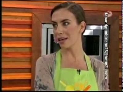 Sasha Sokol; con el Chef Oropeza, 1.2