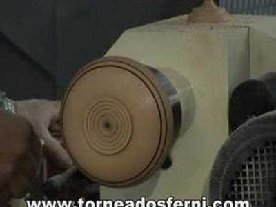 """Torneados Ferni presenta: torneado en madera """"plato"""""""