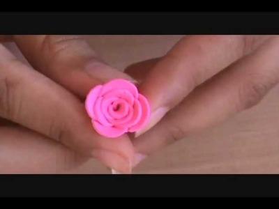 Tutorial 14 Rosa de Arcilla Polimerica