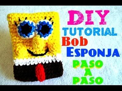 Bob Esponja!!! - Monedero!! Spongebob** CROCHET