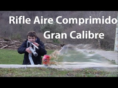 Cómo Hacer un Rifle de Aire Comprimido de Canicas - Reto con TheSurvivorSpanish