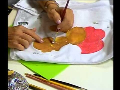 DetallesMagicos con MimiLuna Pintura en Franela Navideña parte4