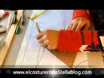 El costurero de Stella Trazo y corte del basico de la blusa