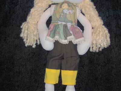 Nena campestre.farmer doll. proyecto 178
