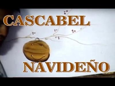 PINTURA DECORATIVA CASCABEL NAVIDEÑO