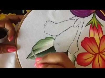 Pintura en tela hoja de higo # 2 con cony