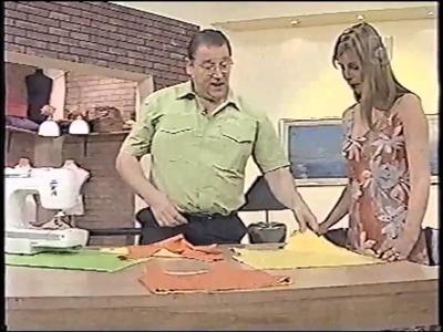 Puntos y Puntadas 327. Técnicas de Costura. Cómo Coser la Remera Reversible con Breteles.