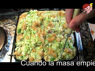 Video receta de takoyaki