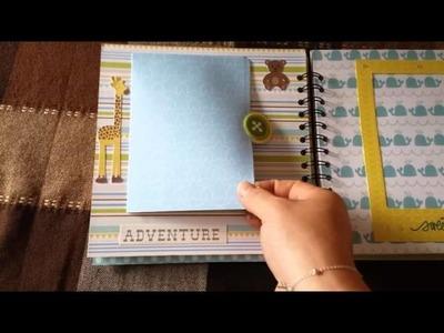 Álbum scrapbook para niño