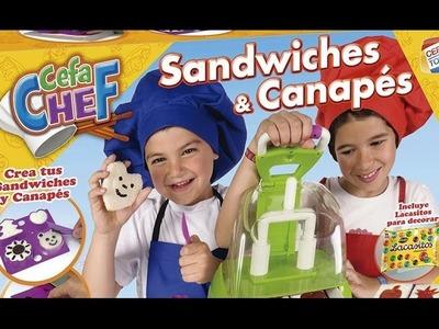 CEFA CHEF - Sandwiches y canapés | Cefa Toys 2015 | Manualidades Infantiles