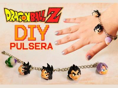 DIY DRAGON BALL Z Characters: bracelet polymer clay - pulsera porcelana fría - PUNYASO remix