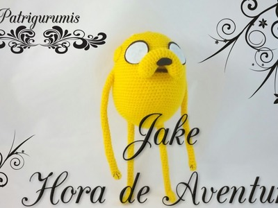 DIY JAKE amigurumi en ganchillo - Crochet