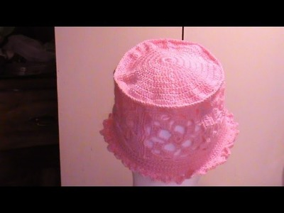 Gorro Primavera a #Crochet . 2a. de 3 partes.