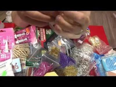 Haul. compras  manualidades Aliexpress.ebay y bazares