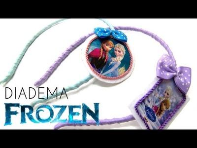 Manualidades - Diadema de Frozen