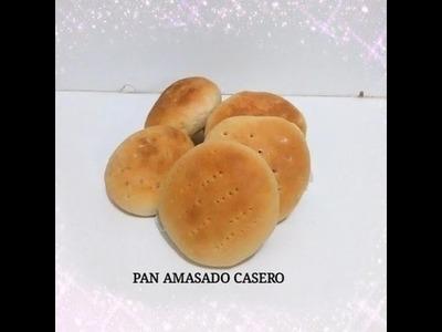 PAN AMASADO PASO A PASO - Silvana Cocina y Manualidades
