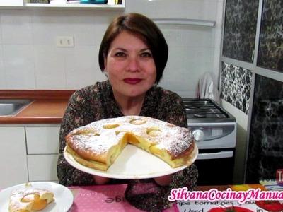 TARTA CLAFOUTIS DE DURAZNO - Silvana Cocina y Manualidades