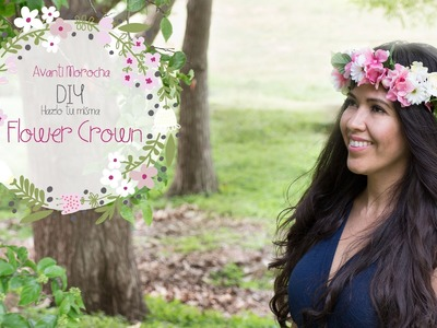 DIY Flower Crown - Corona de Flores