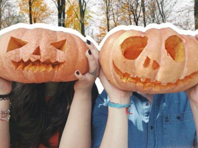 DIY Lanterna de abóbora para Halloween