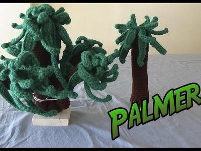 Palmeras a crochet