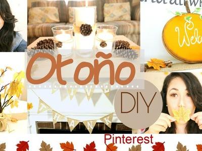 DIY Otoño  & Ideas Pinterest