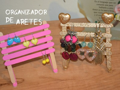 Earrings organizer. organizador de aretes