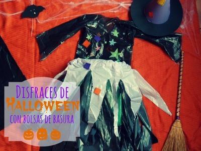 Manualidades Infantiles: Disfraces con bolsas para Halloween
