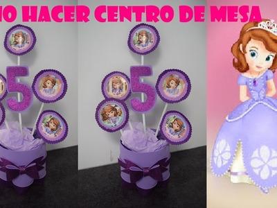 CENTRO DE MESA PRINCESA SOFIA2