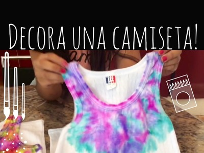 Como decorar una camiseta