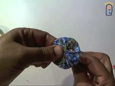 Curso de Artesanato - Aula 002 - Fuxico Flor I