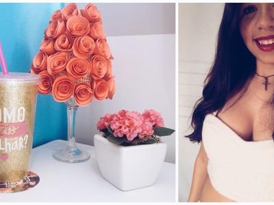 DIY: Abajur de flor de papel | VEDA#27