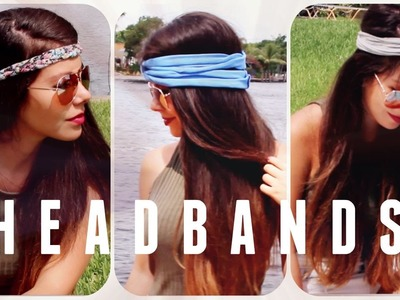 DIY : HEADBANDS. DIADEMAS ACCESORIOS  | Jenny Sanchez