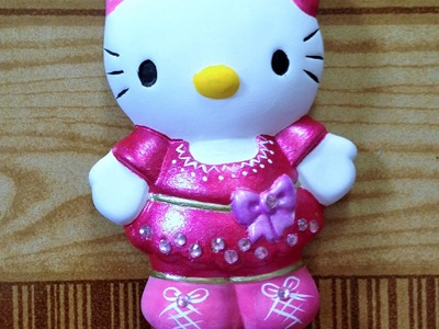 DIY Pinta cerámica Hello Kitty recuerdos ceramic paint