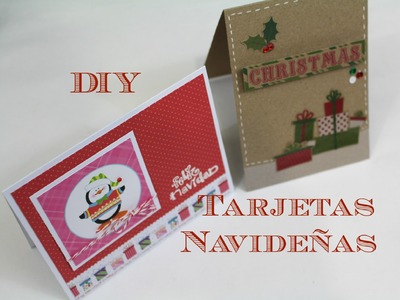 DIY Tarjetas Navideñas . . . DIY Christmas Cards