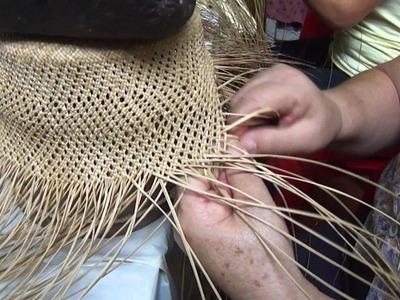 El Arte de tejer un Sombrero en Paja Toquilla