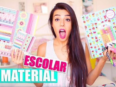 MATERIAL ESCOLAR ♡ Vuelta a Clase | A Little Too Often