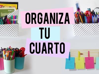 Organiza y decora tu cuarto - organizadores - Tutoriales Belen