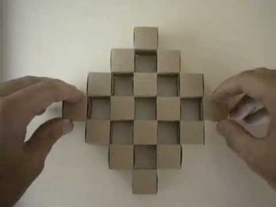 Pared de 16 cubos