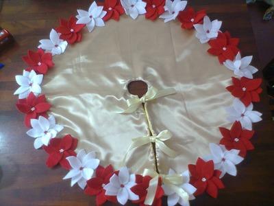 Pie de árbol. Christmas ornament. proyecto 209
